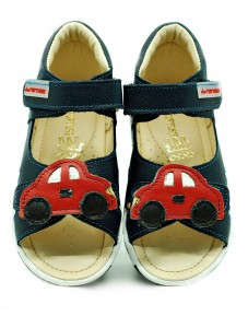 ekoTuptusie Shoes red cars