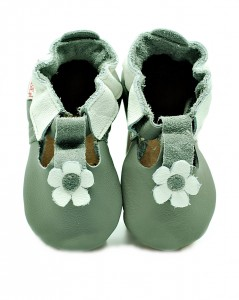 Soft Sole Baby Shoes grey sandals