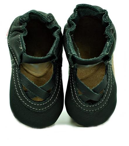 Soft Sole Baby Shoes black ballet
